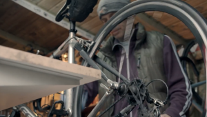 screen shot from the Life of a Bicycle film